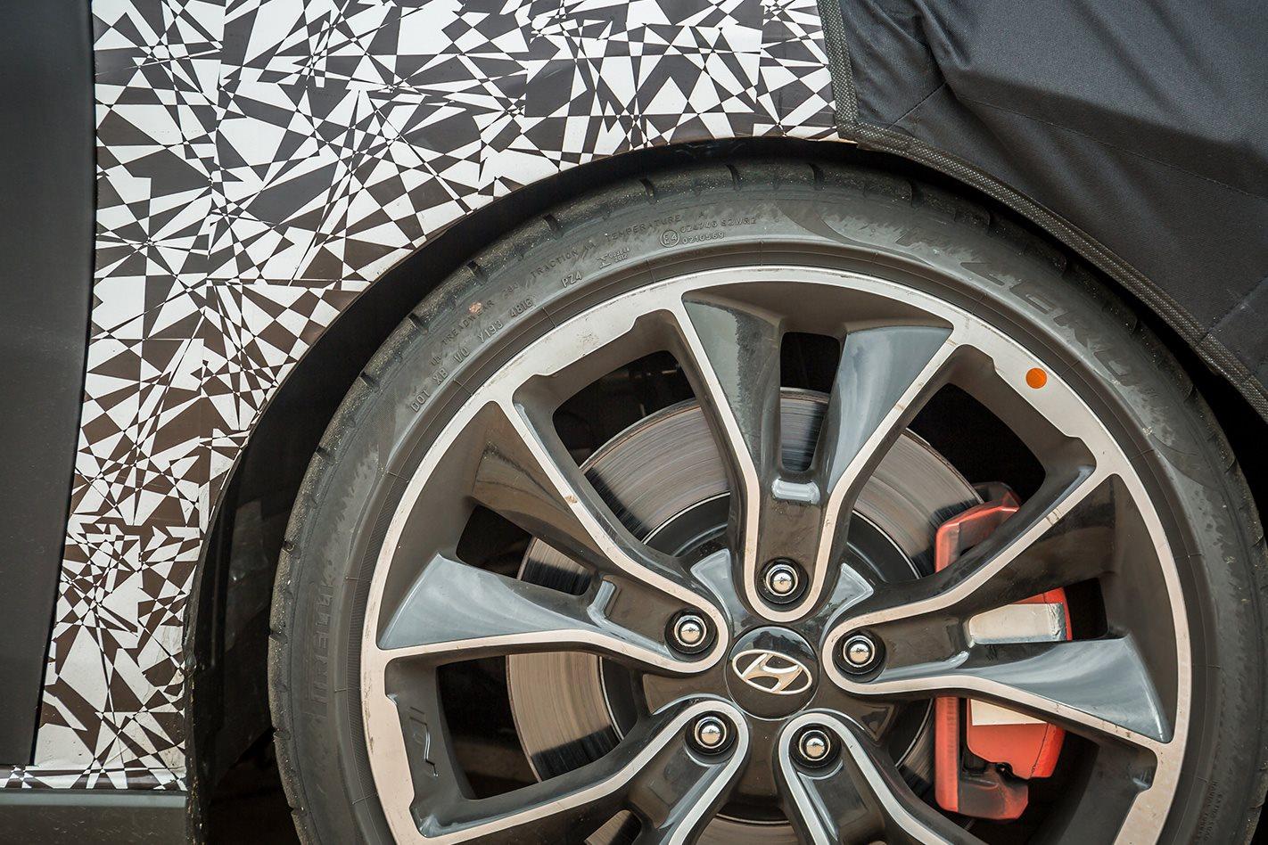 Hyundai i30 N prototype wheel