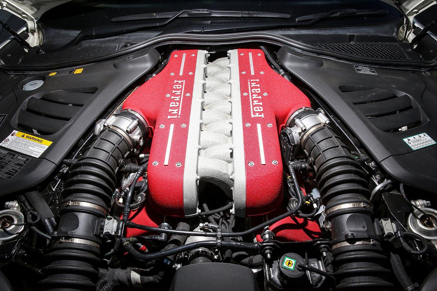 2017 Ferrari GTC4 Lusso engine