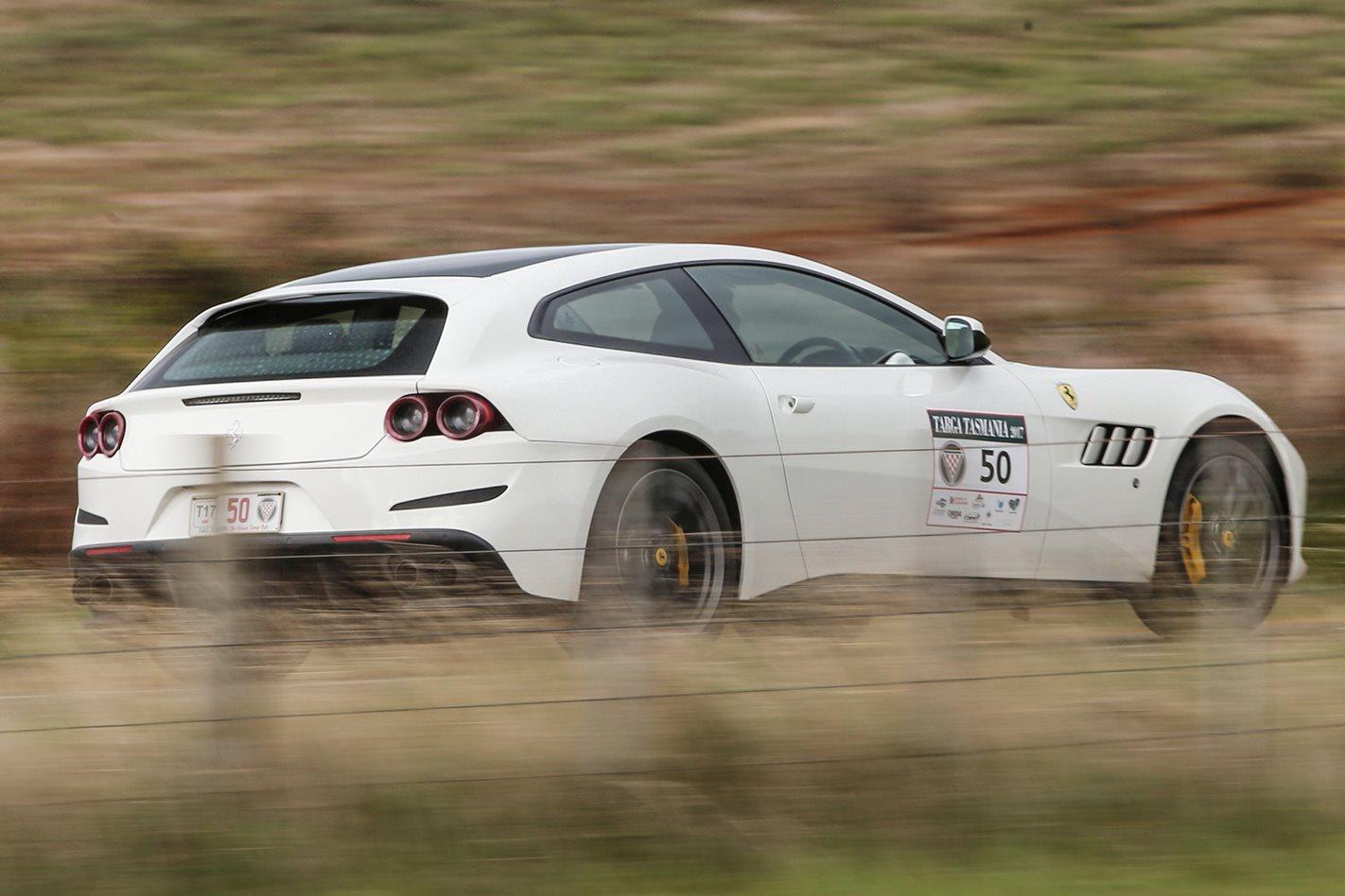 2017 Ferrari GTC4 Lusso driving