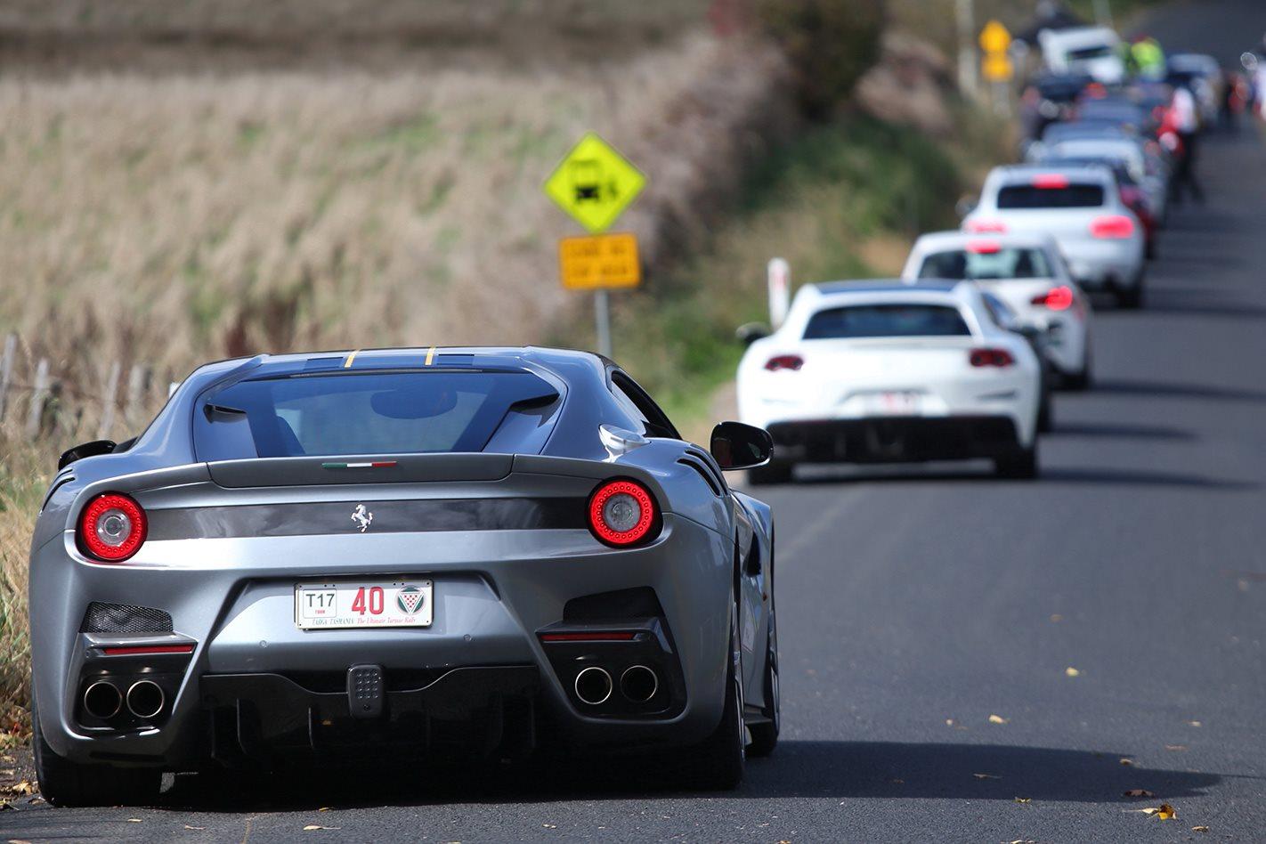 2017 Ferrari GTC4 Lusso race competitors