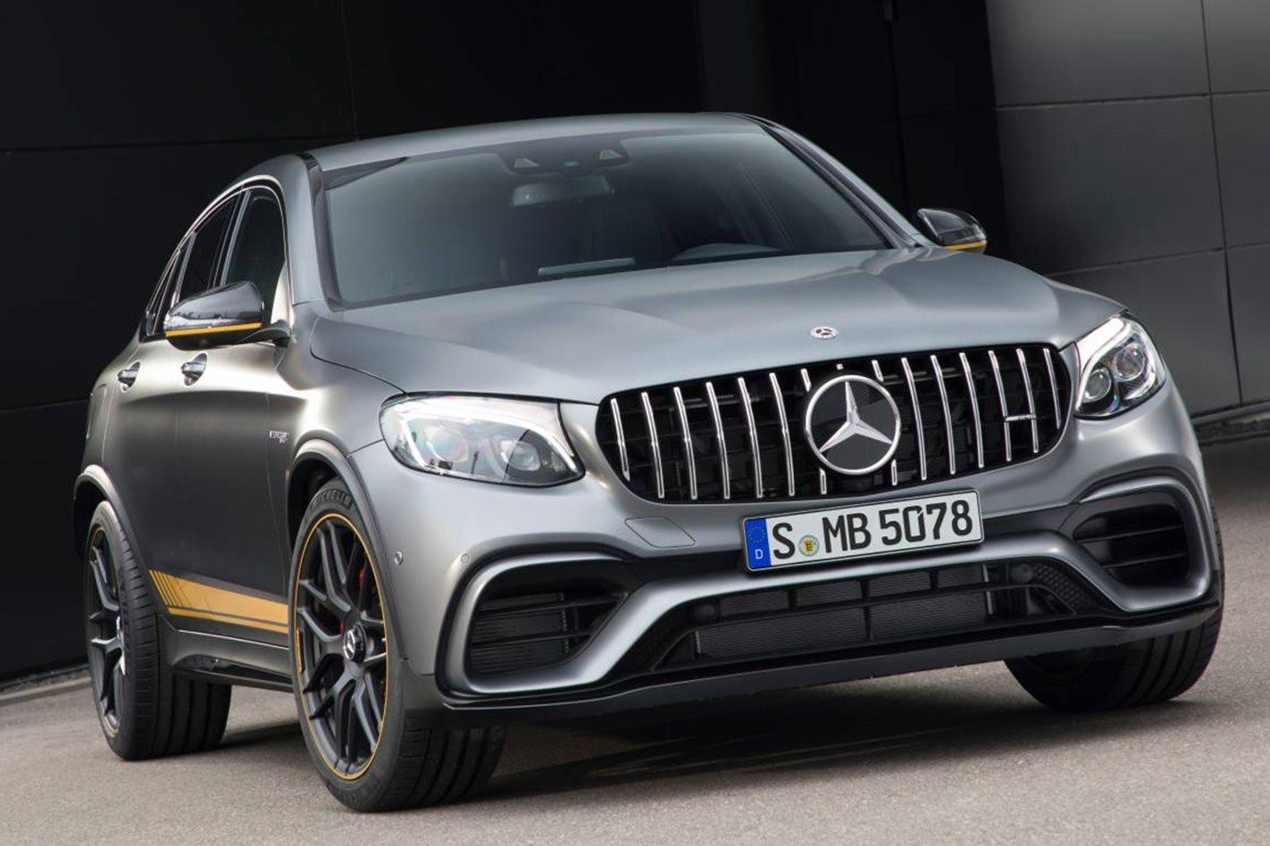 Mercedes-AMG GLC63 S front
