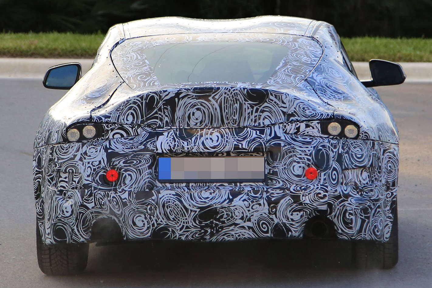 Toyota Supra prototype rear
