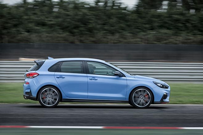 2018 Hyundai i30 N driving side