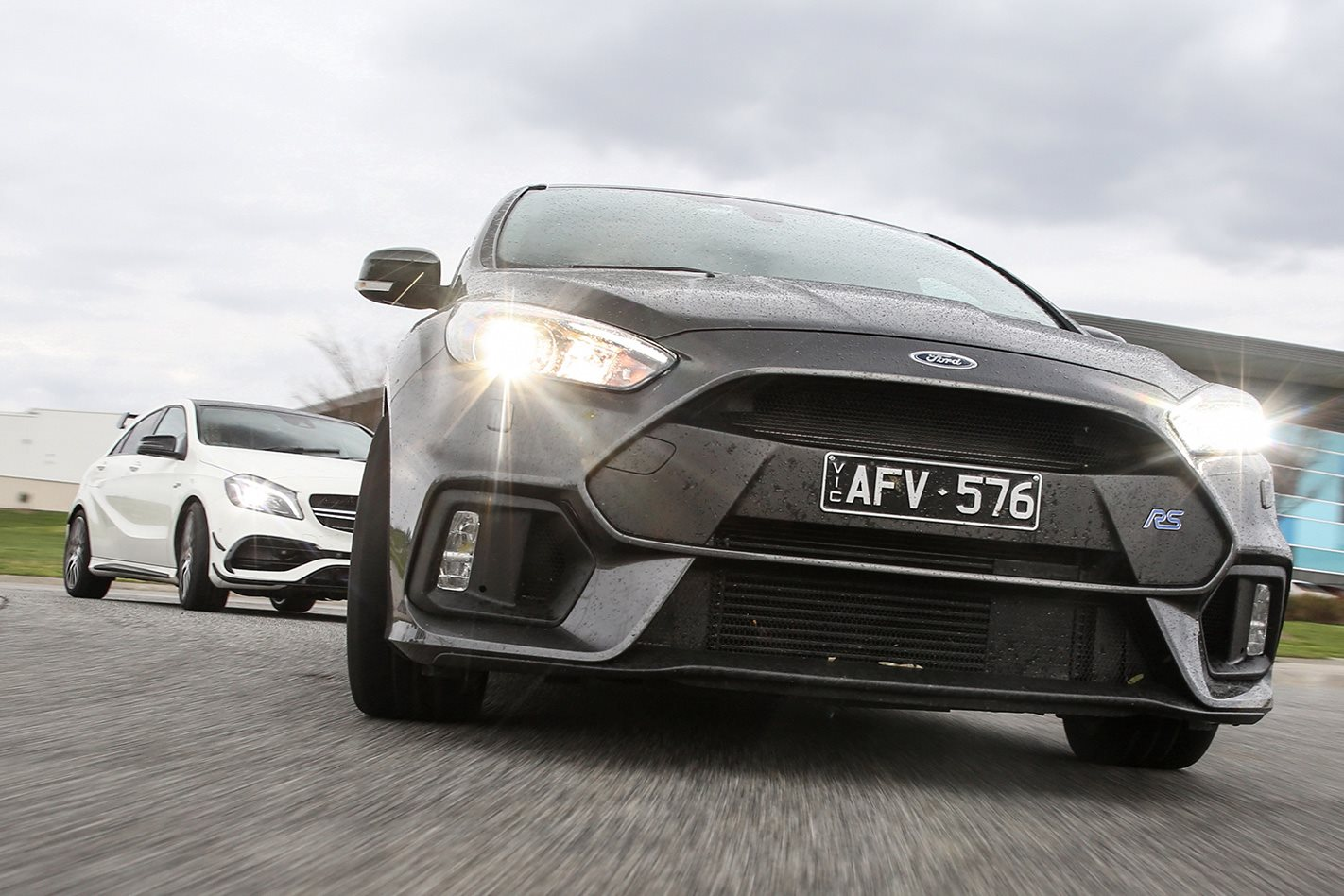 Ford Focus RS500 driving