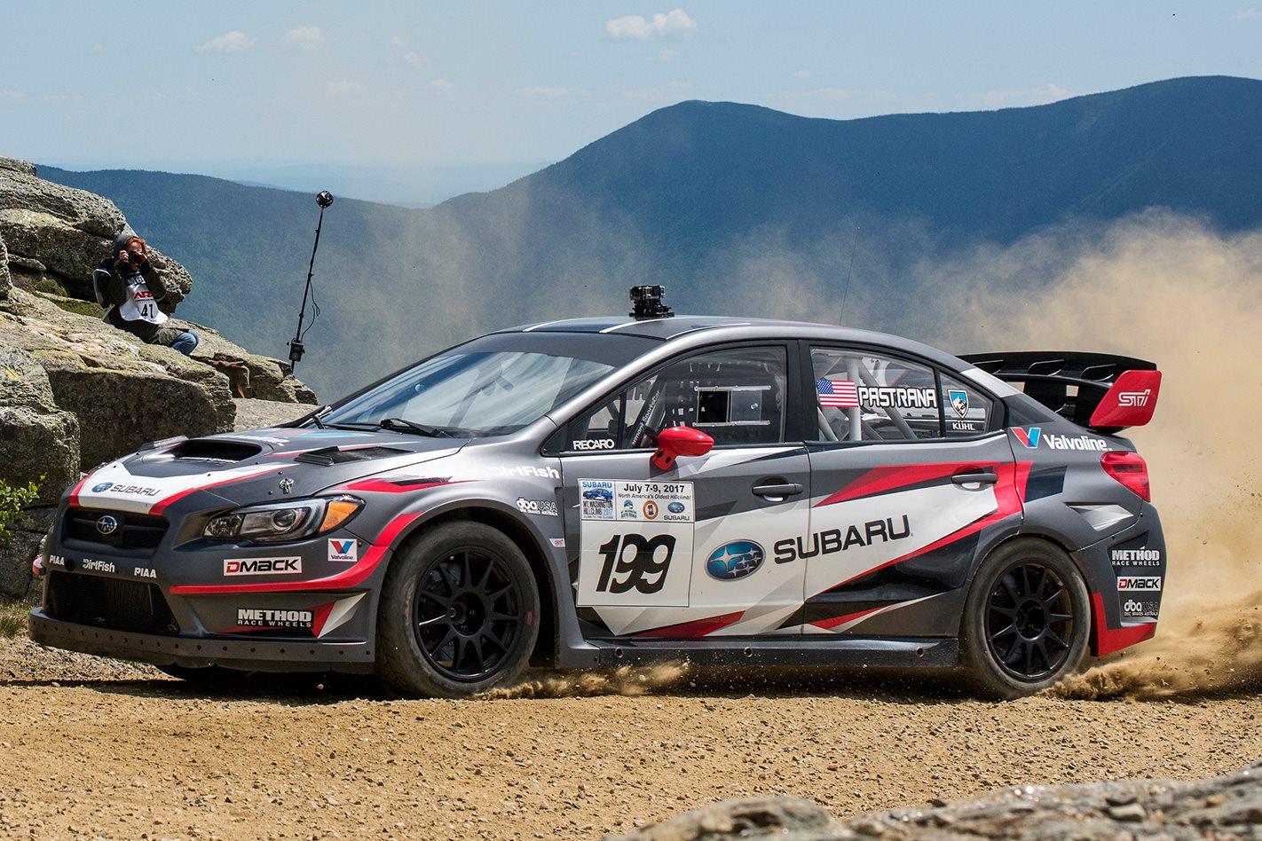 450kW Subaru WRX STI sets hillclimb record