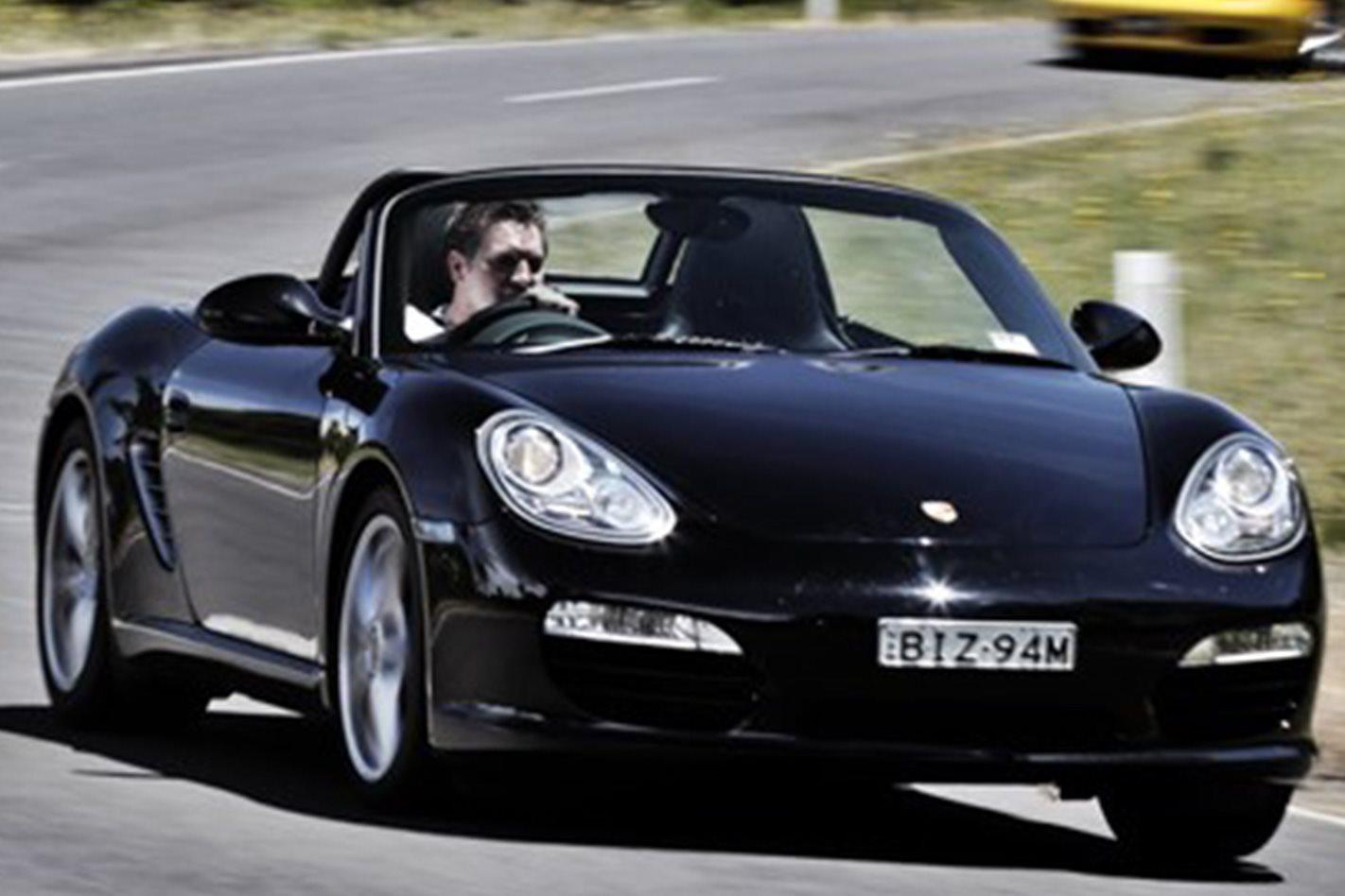 2009 Porsche Boxster front