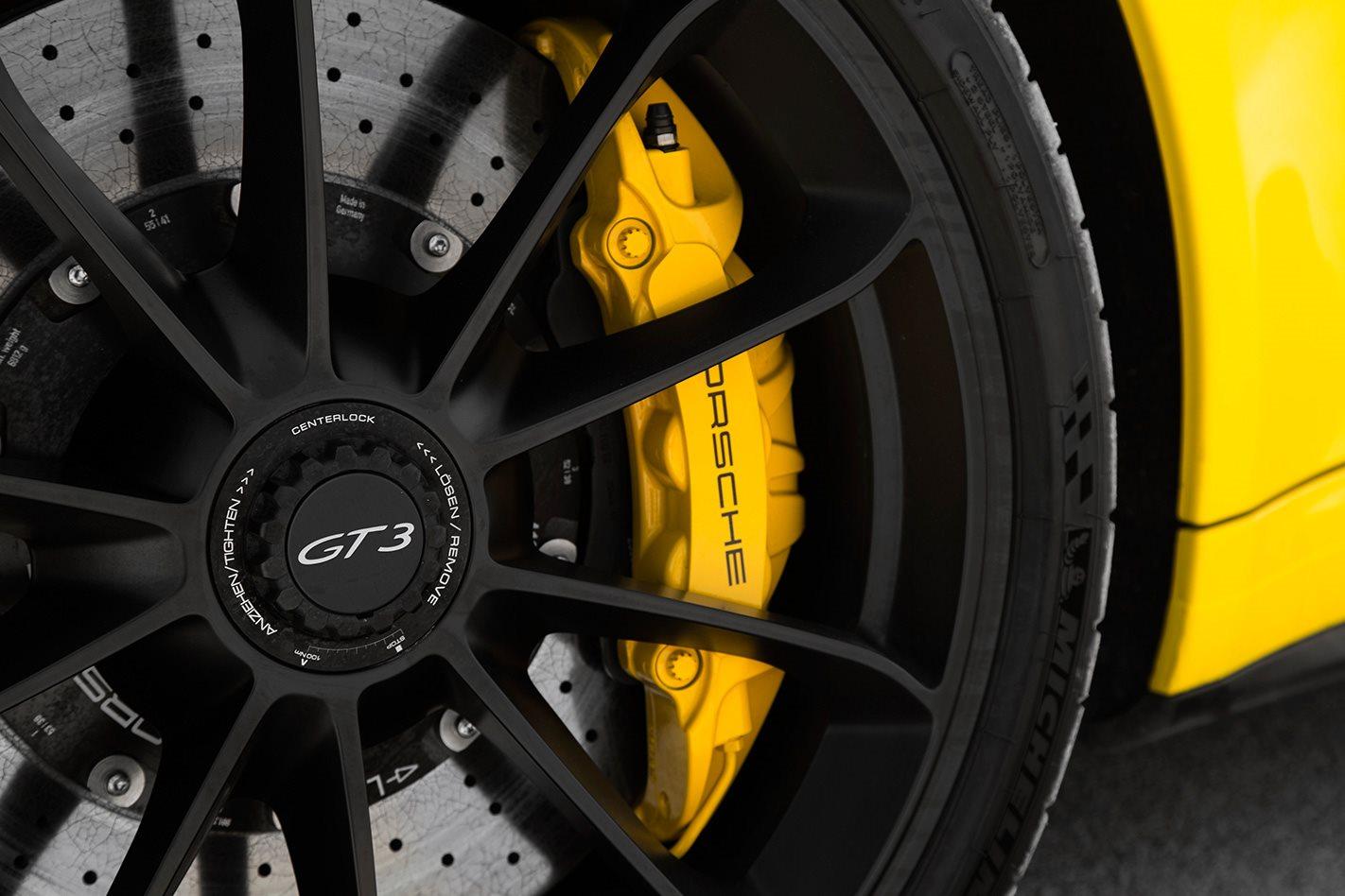 2017 Porsche 911 GT3 manual wheel