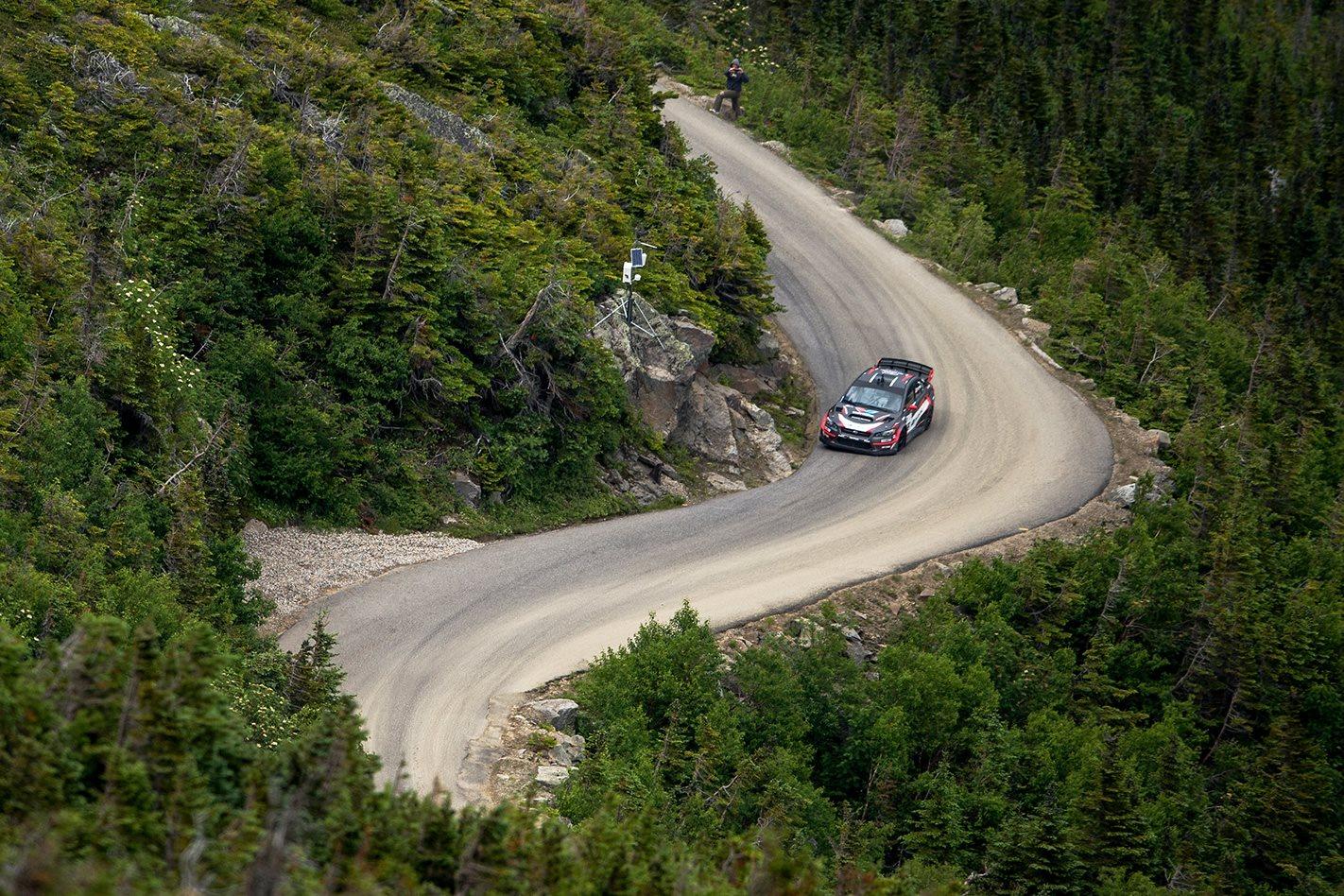 450kW Subaru WRX STI on Mt Washington