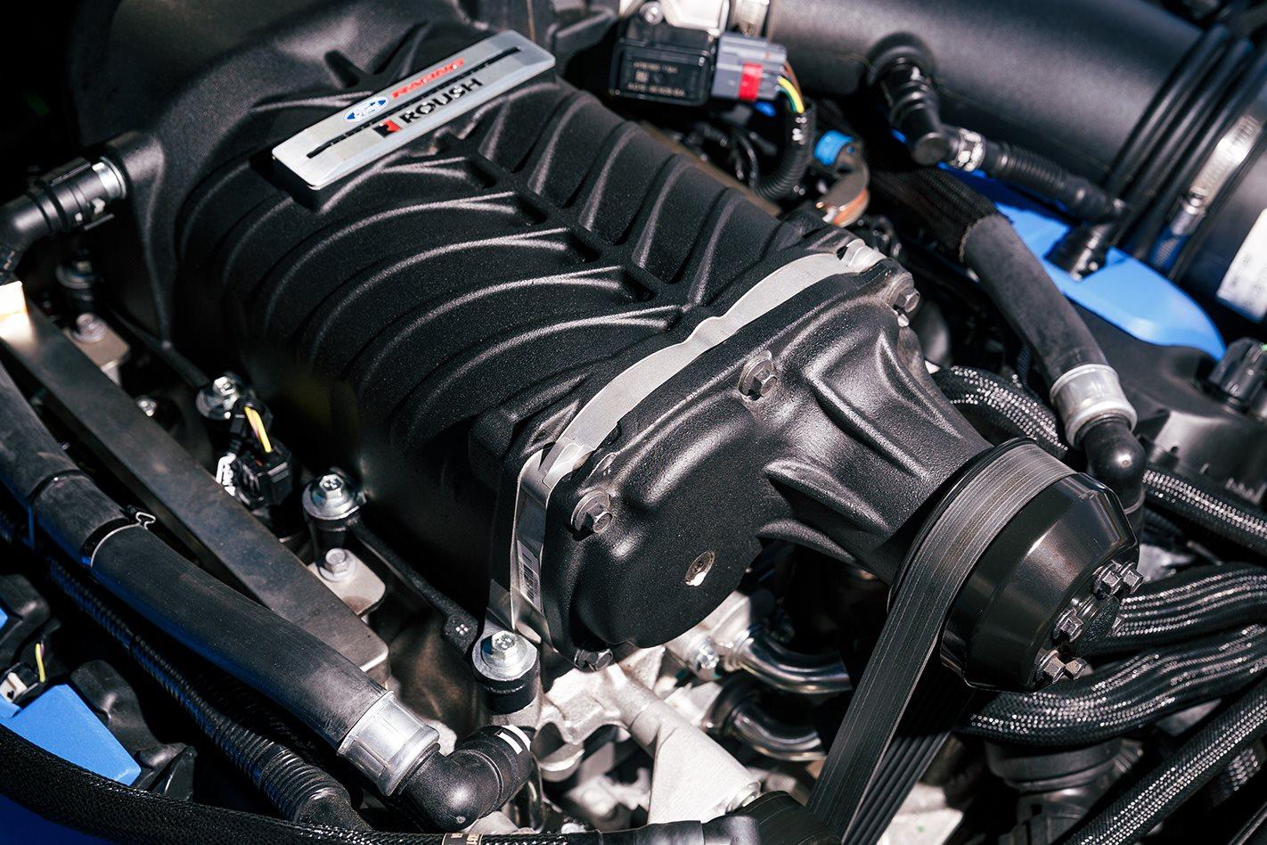 Herrod Ford Mustang GT engine