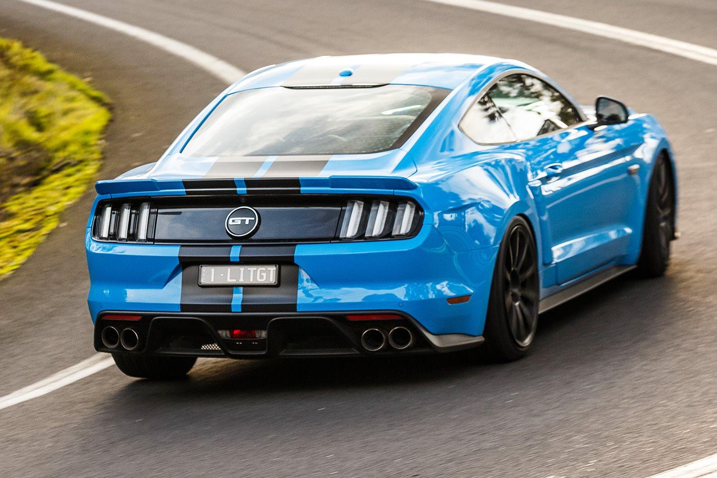Herrod Ford Mustang GT rear