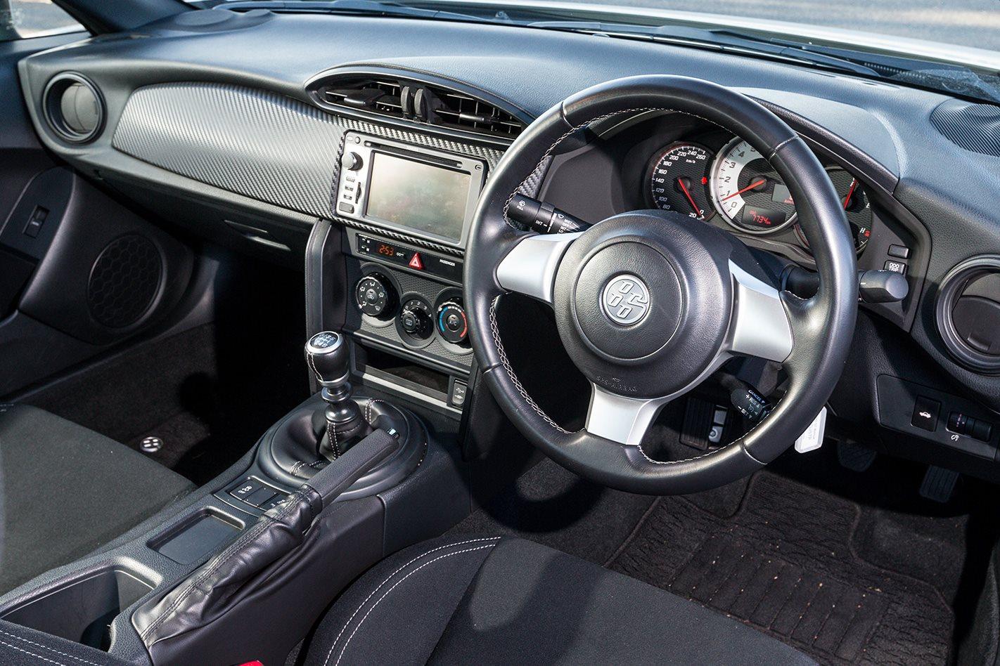 2017 Toyota 86 TRD interior