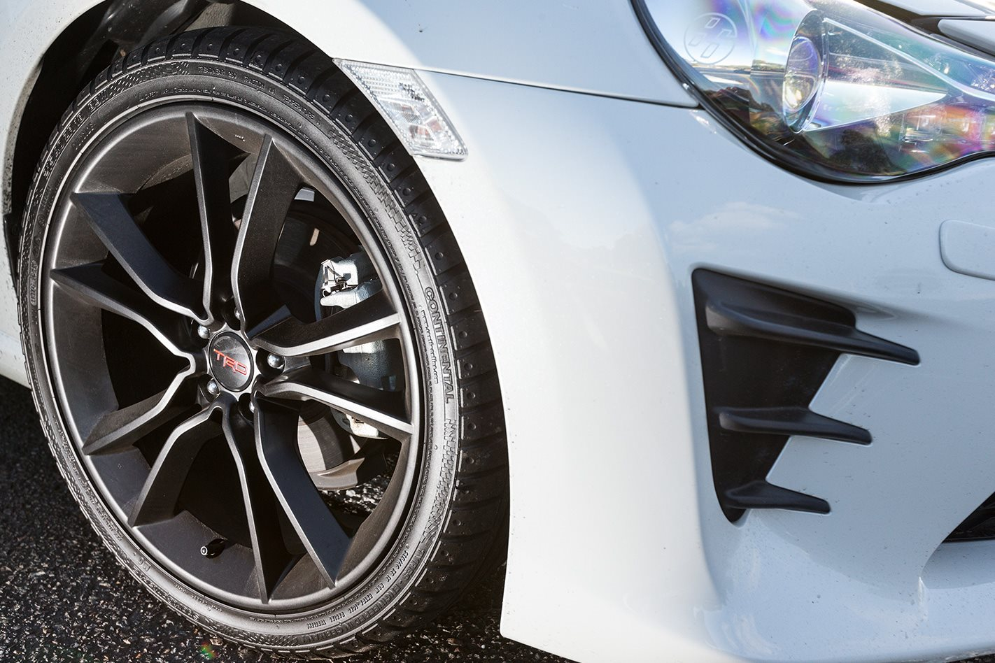 2017 Toyota 86 TRD wheel