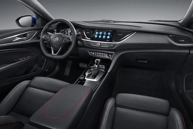 2018 Buick Regal GS interior