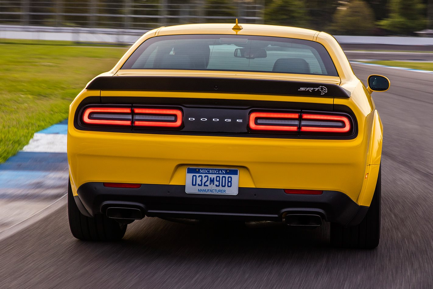 2018 dodge challenger hellcat. contemporary challenger 2018 dodge challenger hellcat widebody rear throughout dodge challenger hellcat