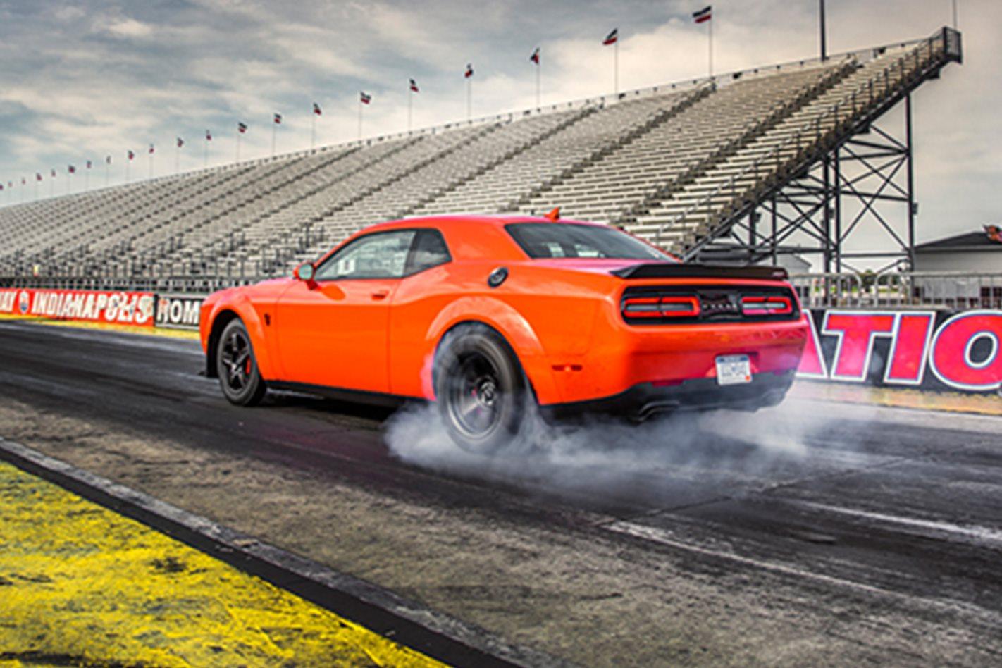 2018 Dodge Challenger SRT Demon revving