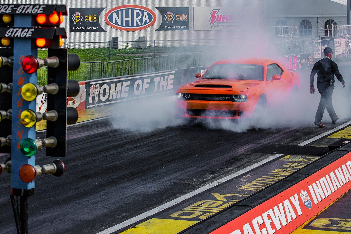 2018 Dodge Challenger SRT Demon testing