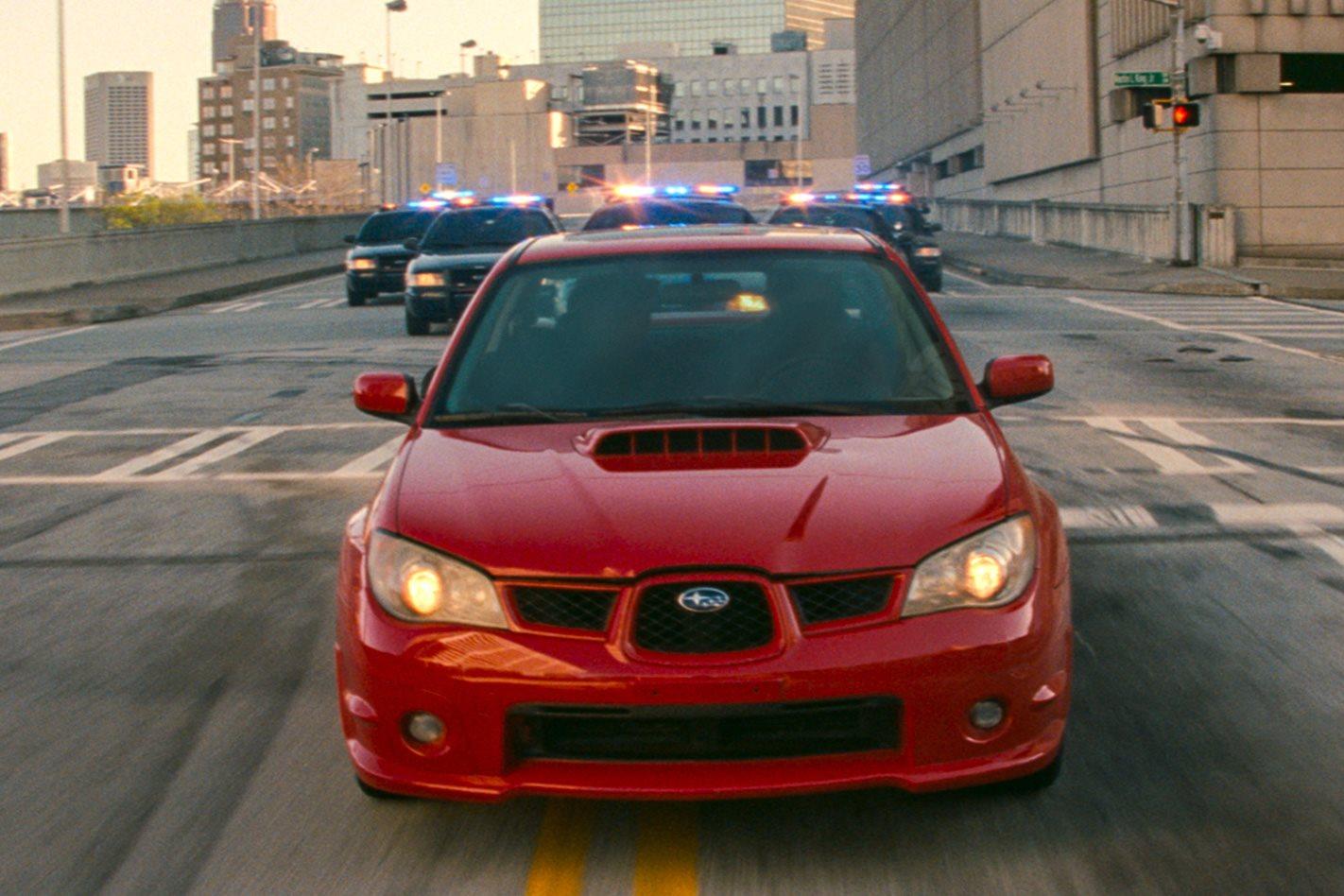 Baby Driver S Subaru Wrx Getaway Scene Is Epic