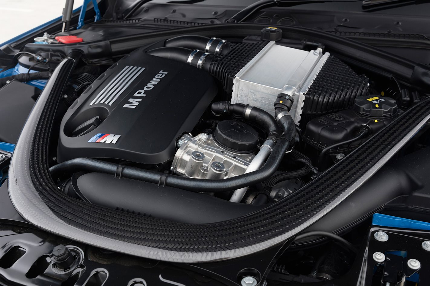 2017 BMW M3 engine