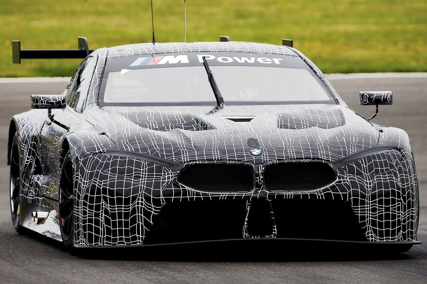 BMW M8 GTE unveiled front