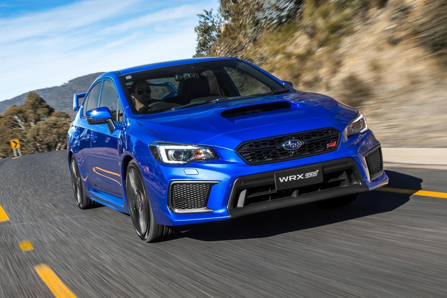 2018 Subaru WRX STI Australian pricing announced