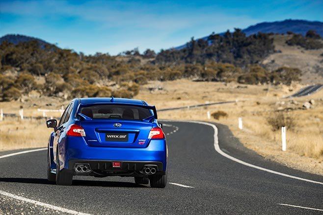 2018 Subaru WXR STI spec.r  rear