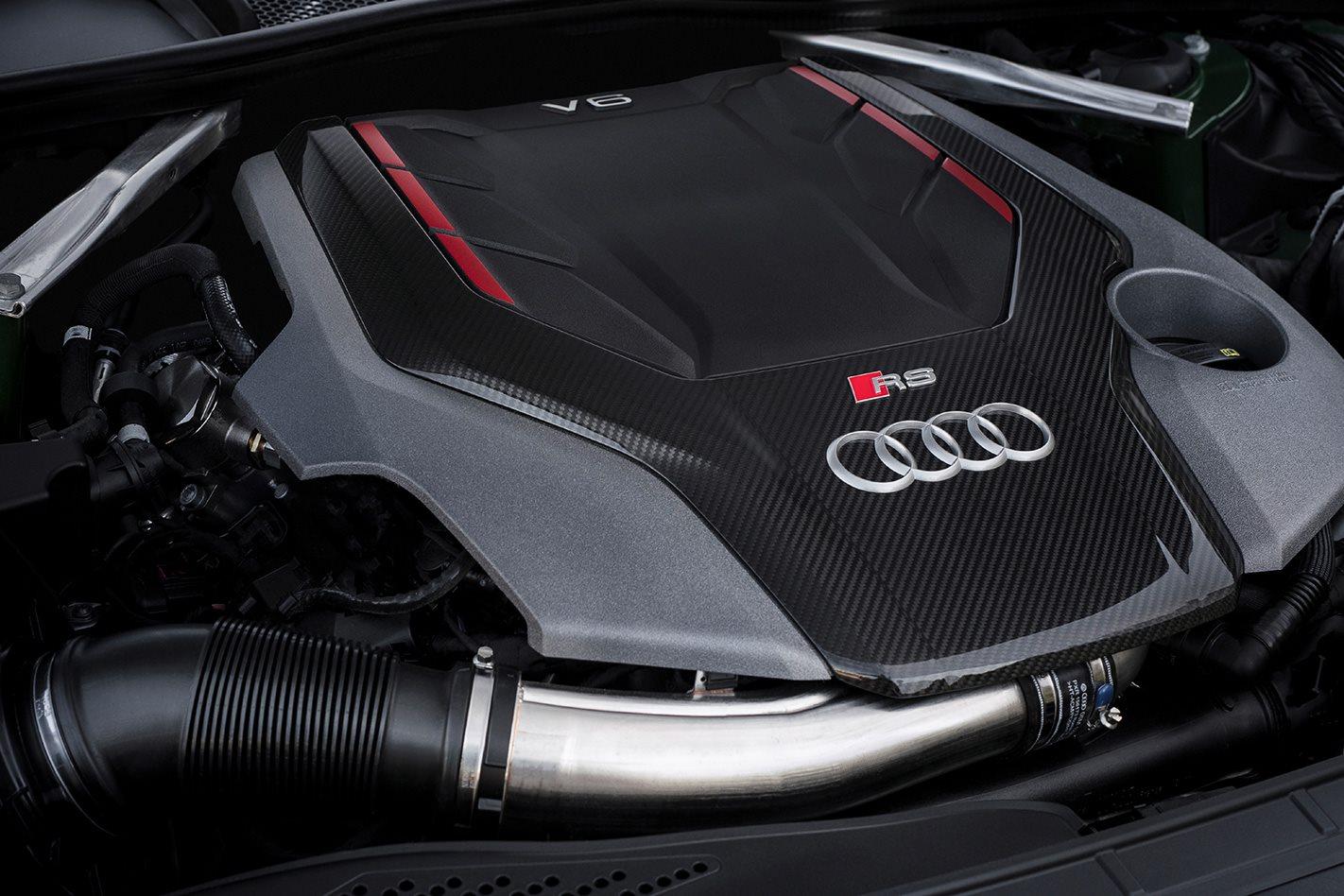 2017 Audi RS5 engine