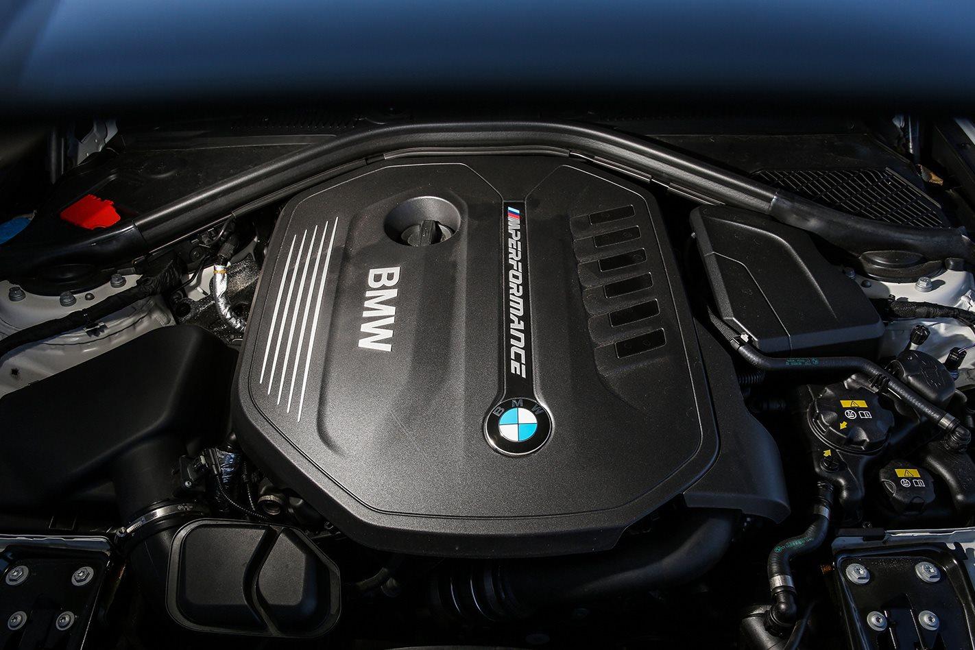 2017 BMW M140i PE engine