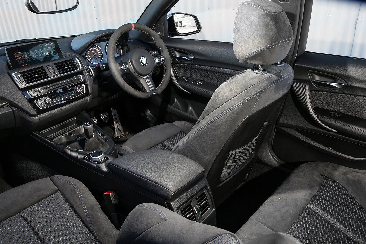 2017 BMW M140i PE cabin