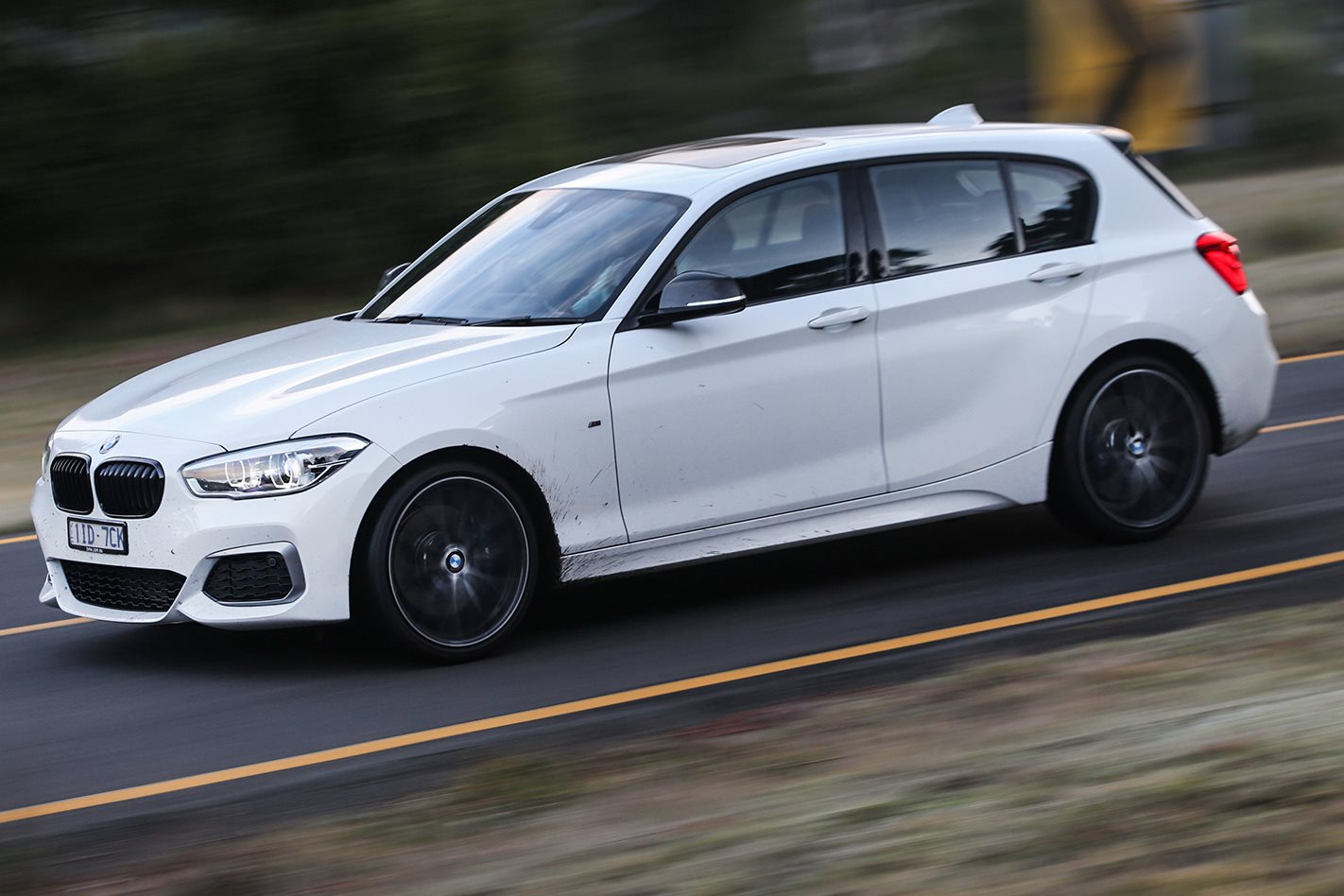 2017 BMW M140i PE side profile