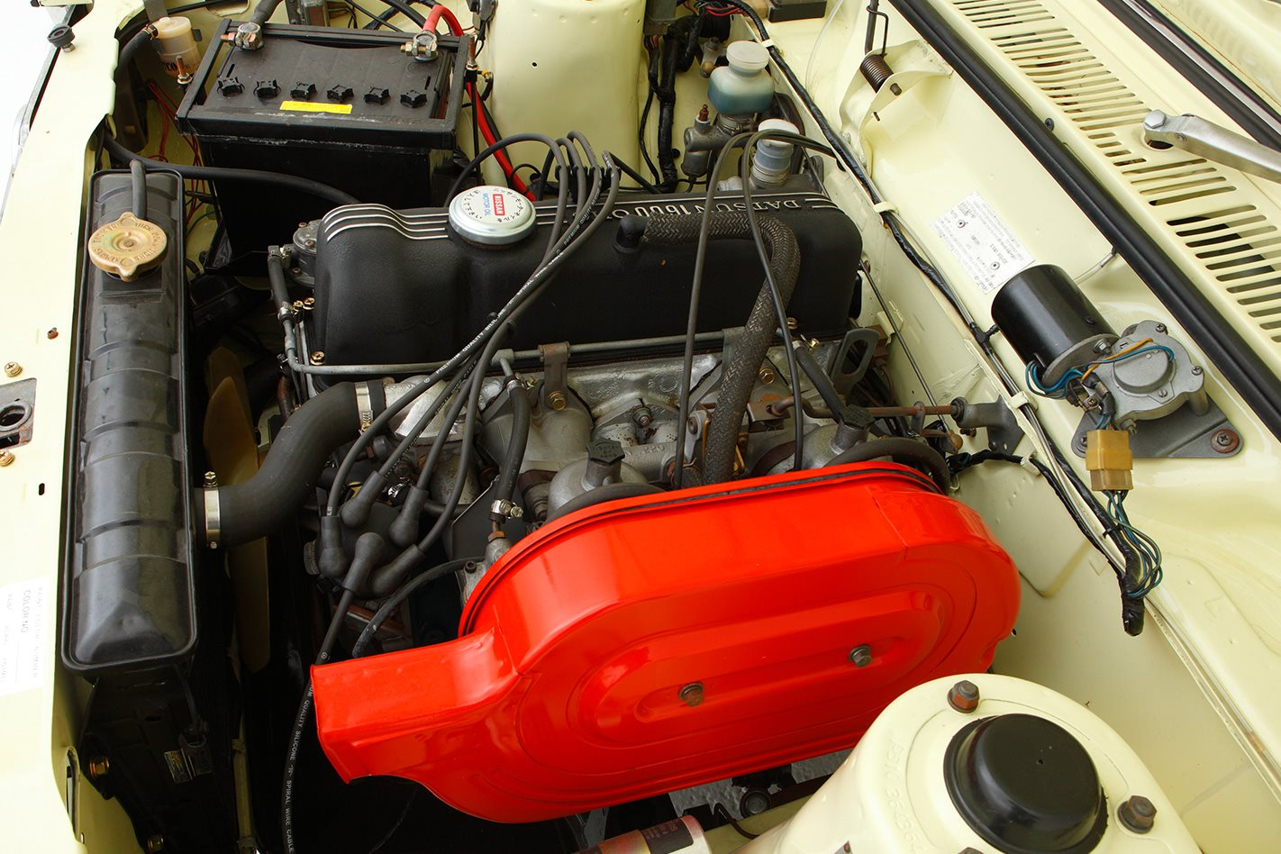Datsun 1600 legend series engine