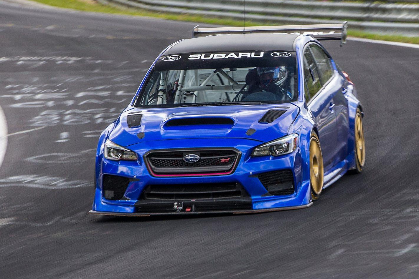 Subaru WRX STI Type RA front