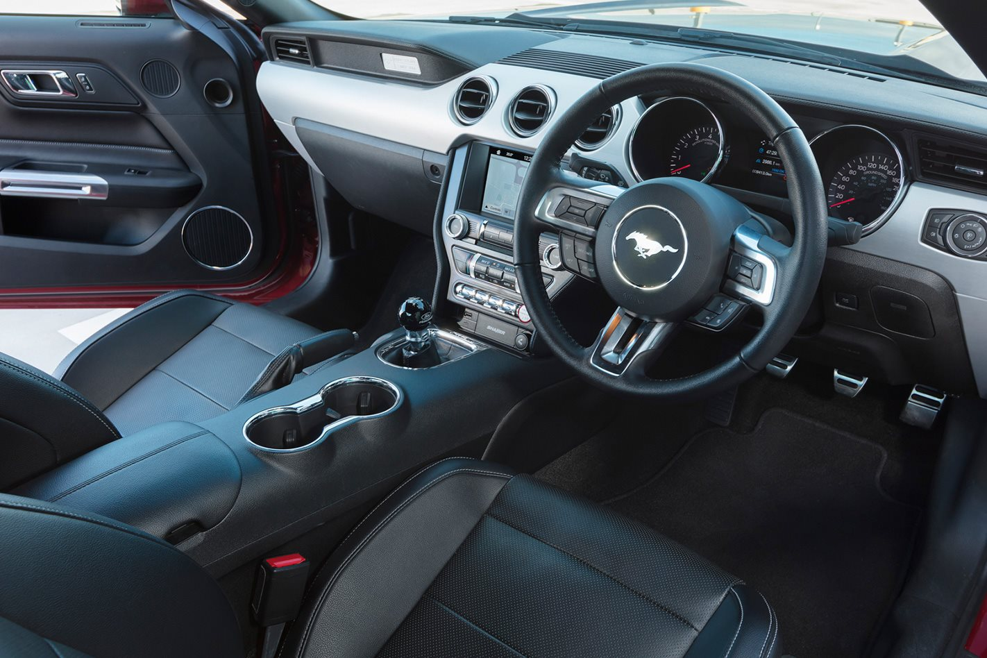2017 Ford Mustang PP interior