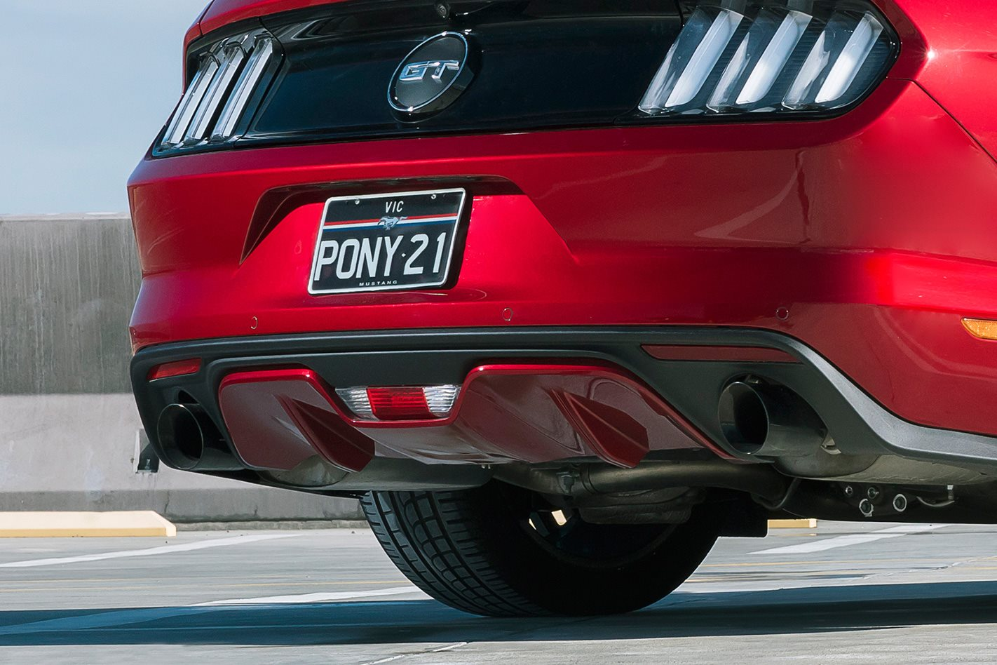 2017 Ford Mustang PP exhaust