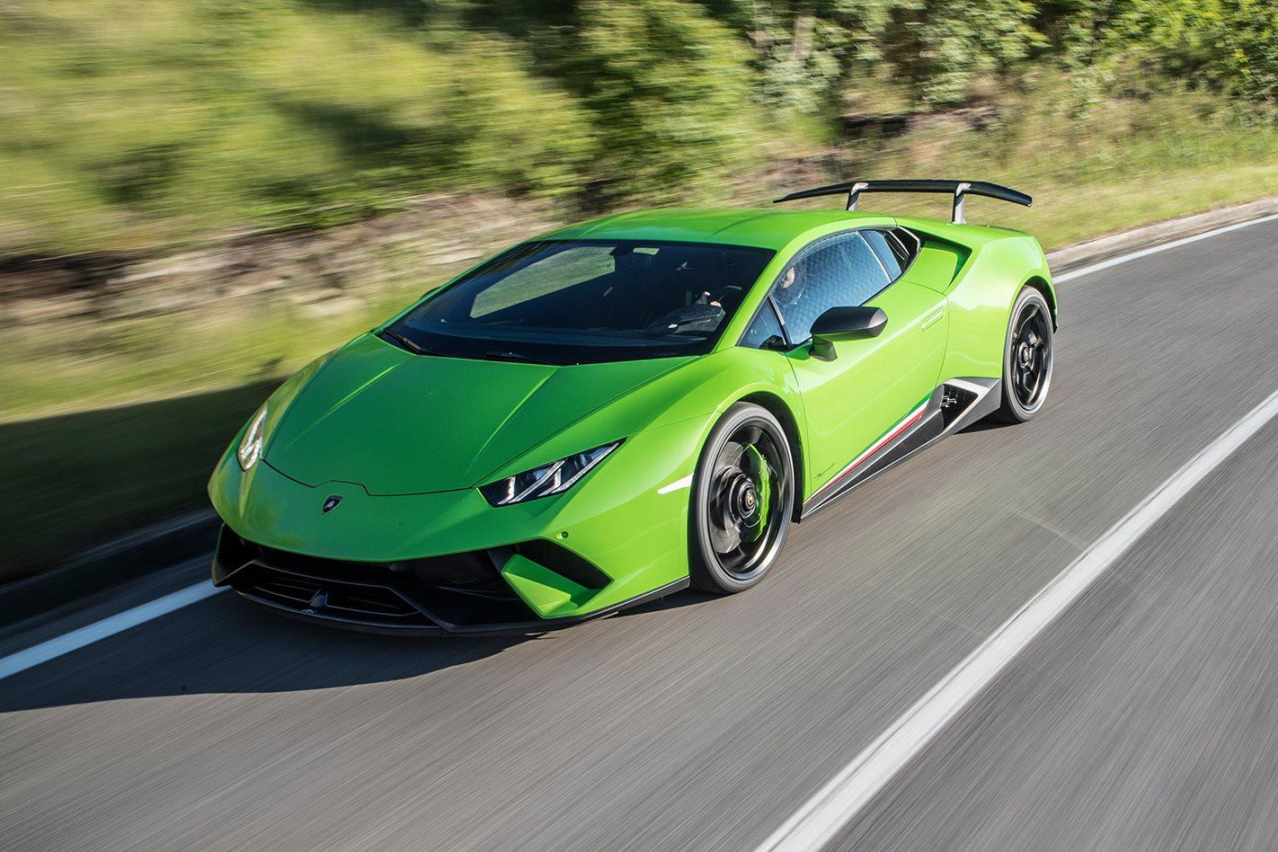 2017 Lamborghini Huracan Performante drive