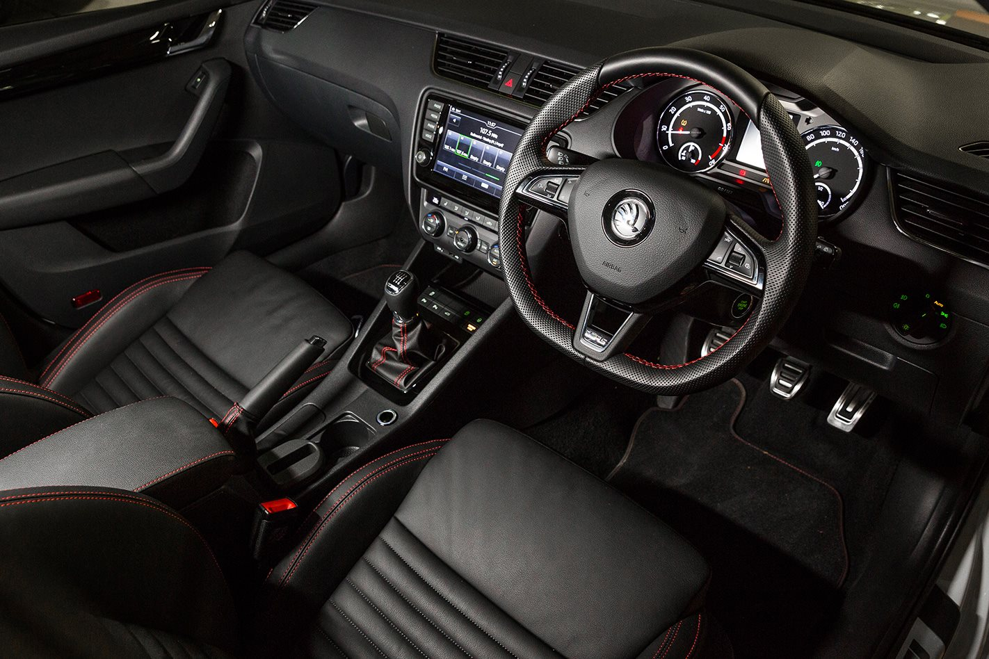 2017 Skoda Octavia RS230 interior