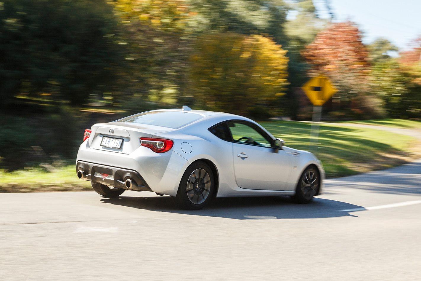 2017 Toyota 86 rear