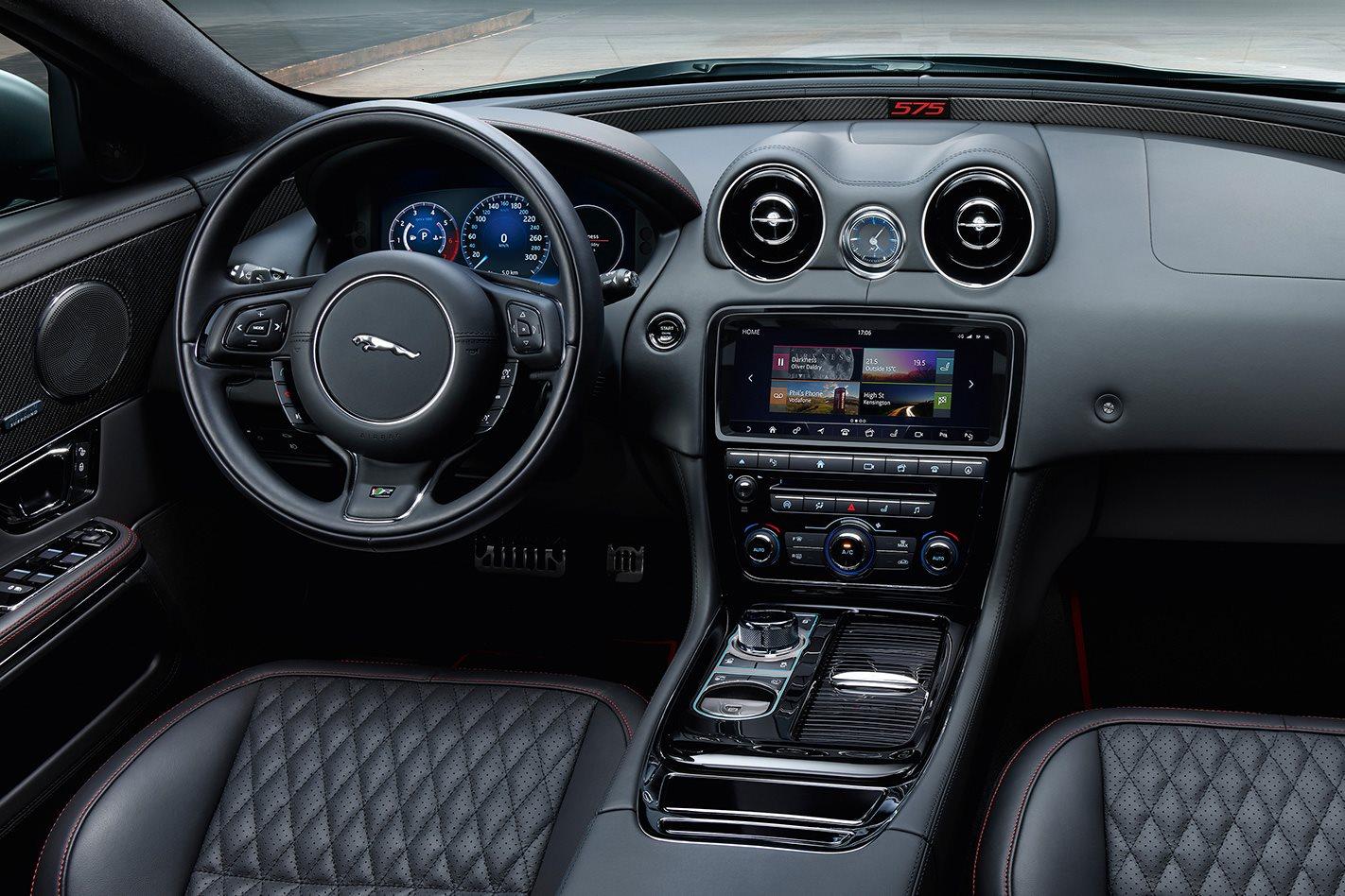 2018 Jaguar XJR575 interior