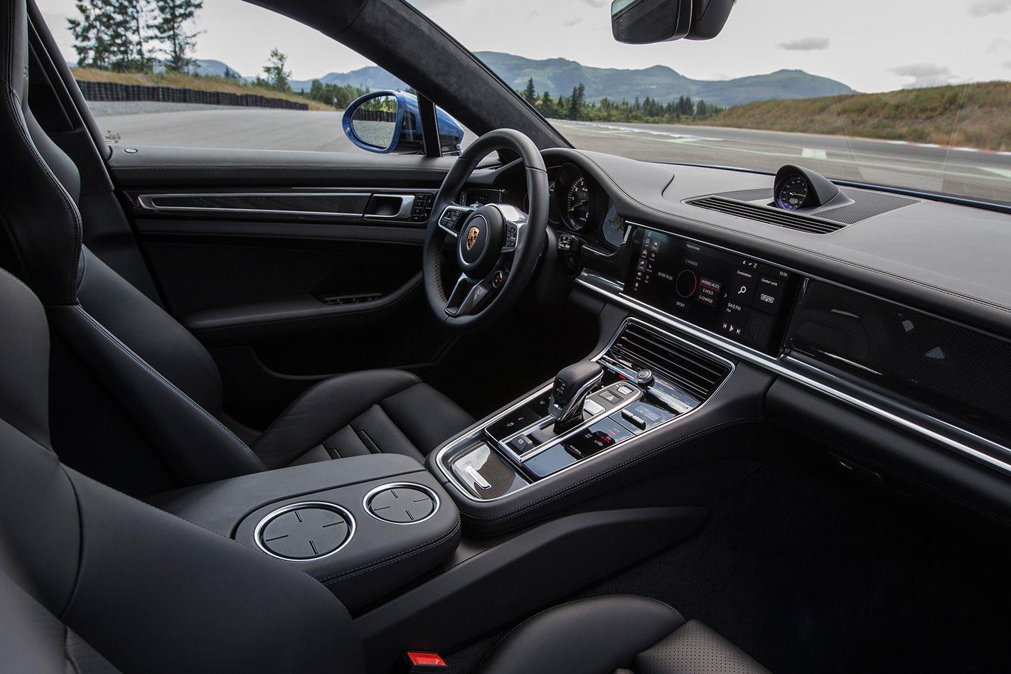 2018 Porsche Panamera Turbo S E Hybrid Review Motor