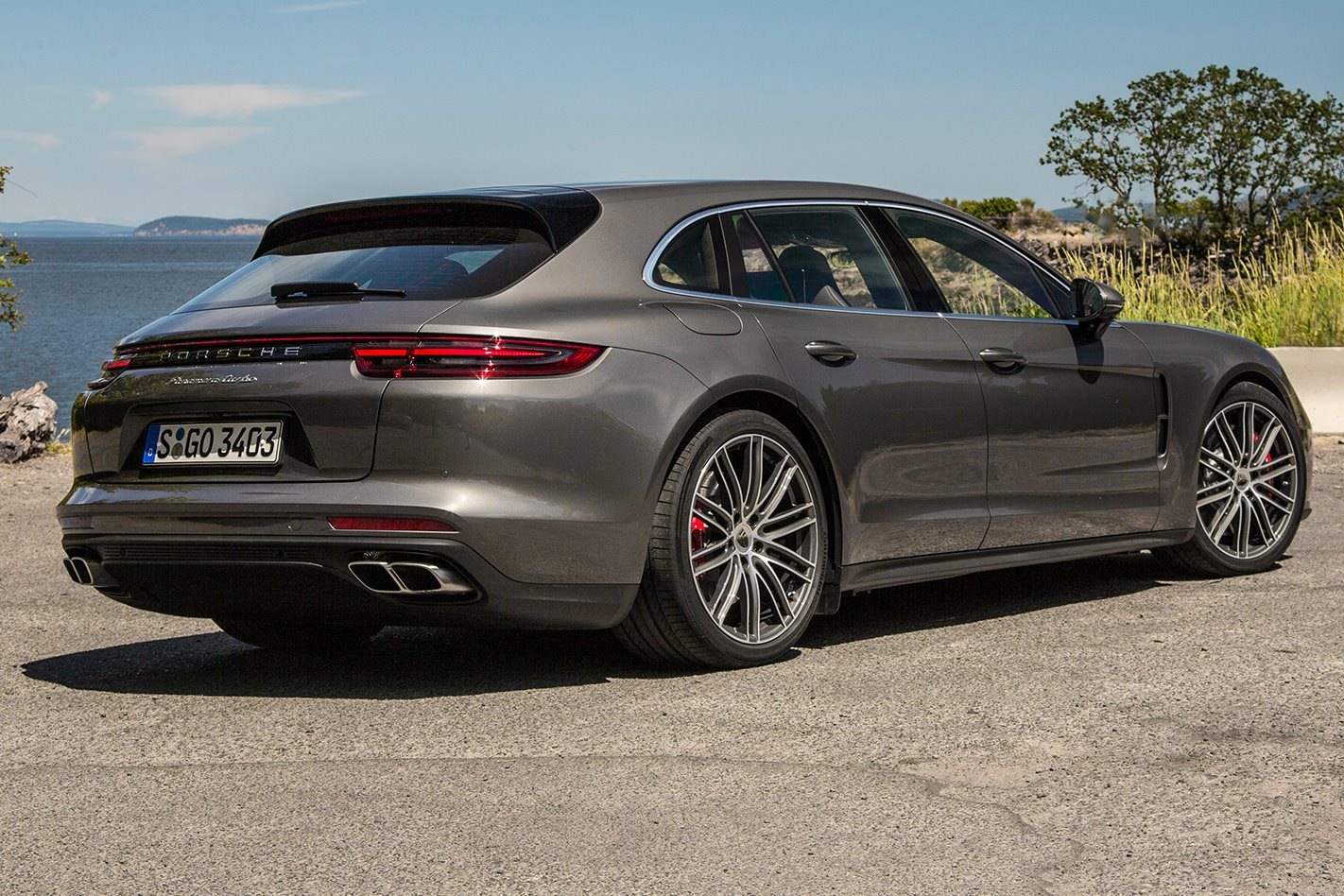 2018 porsche panamera turbo sport turismo review. Black Bedroom Furniture Sets. Home Design Ideas