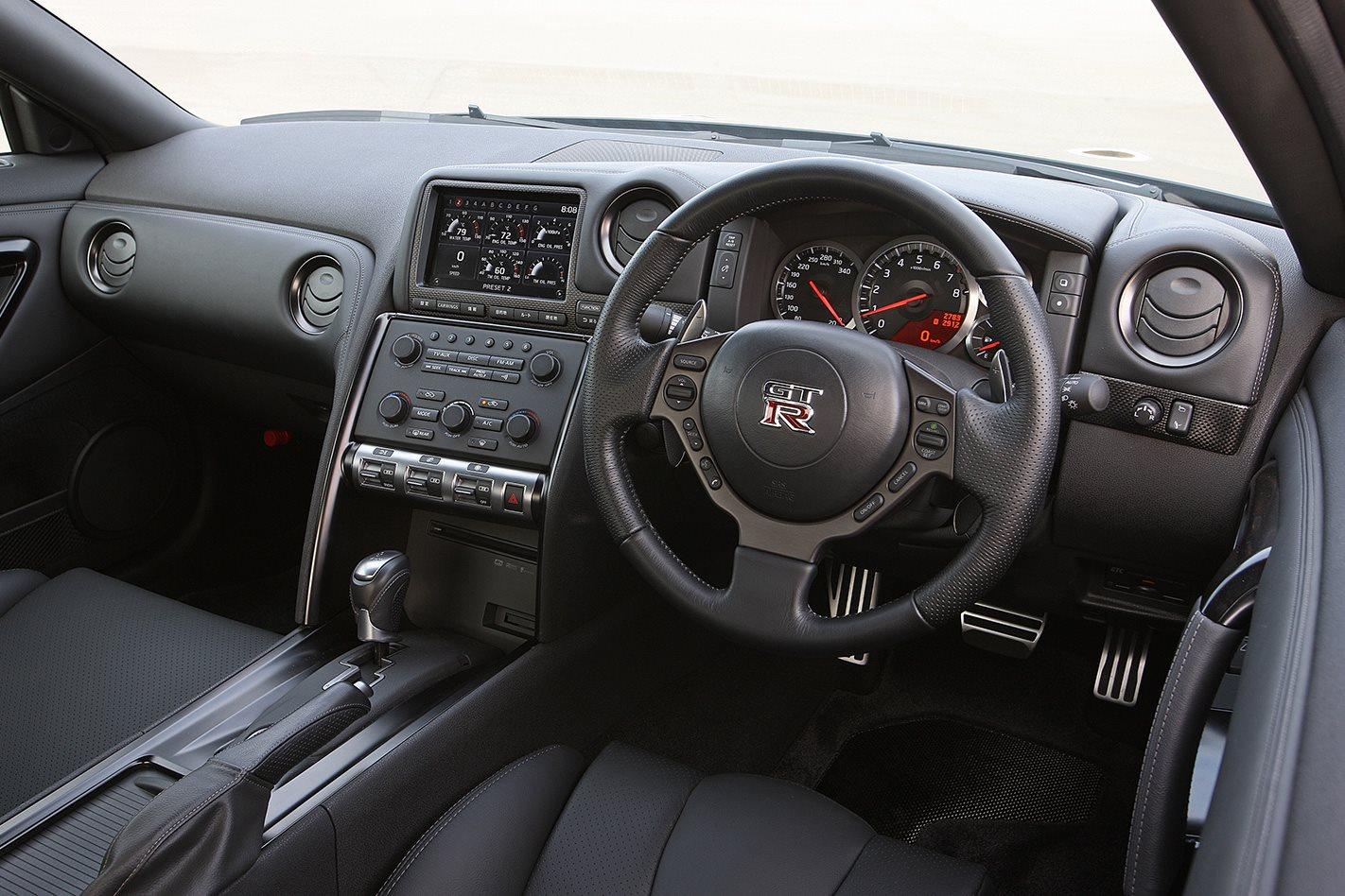 Nissan R35 GT-R Spec-V interior