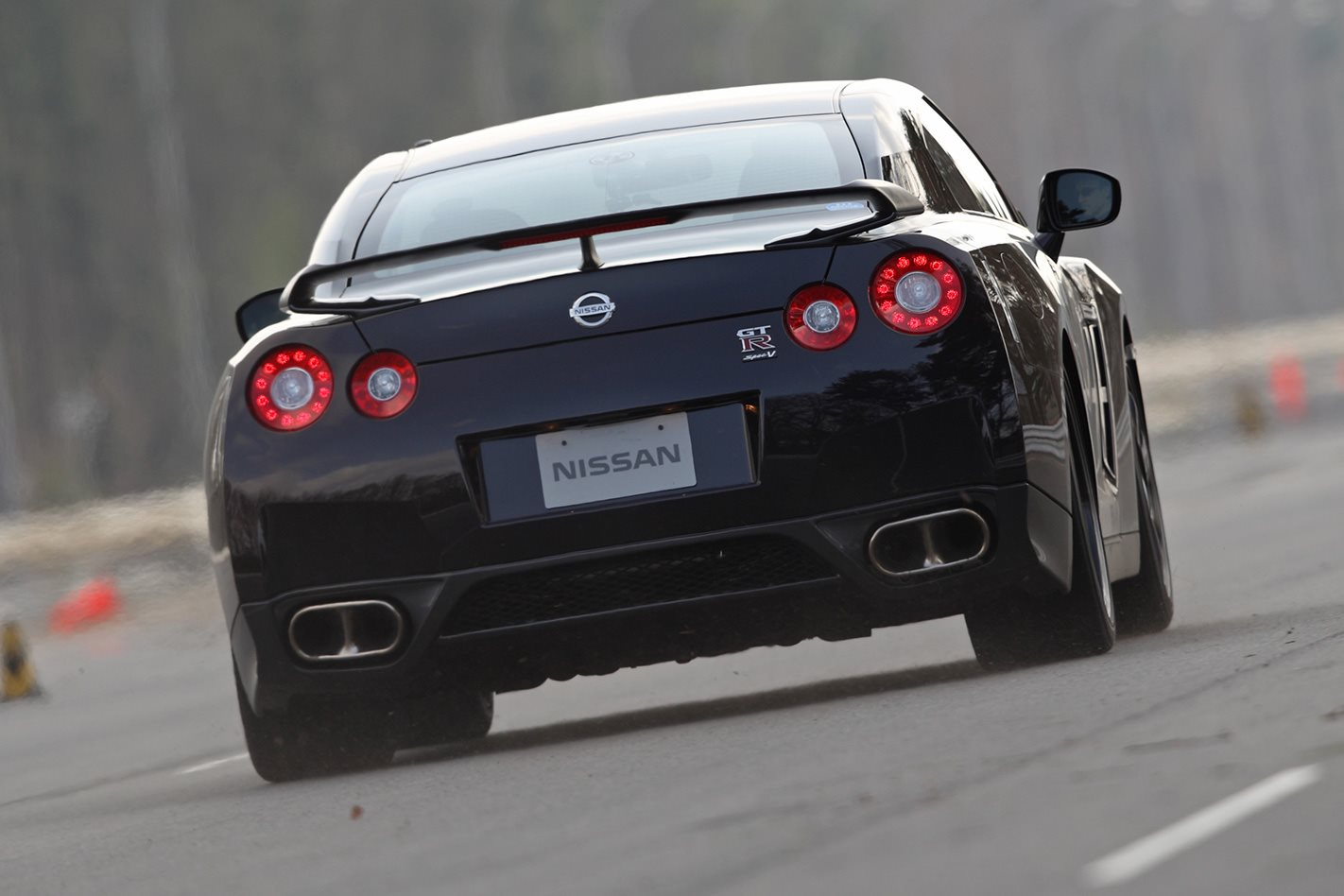 Nissan R35 GT-R Spec-V rear