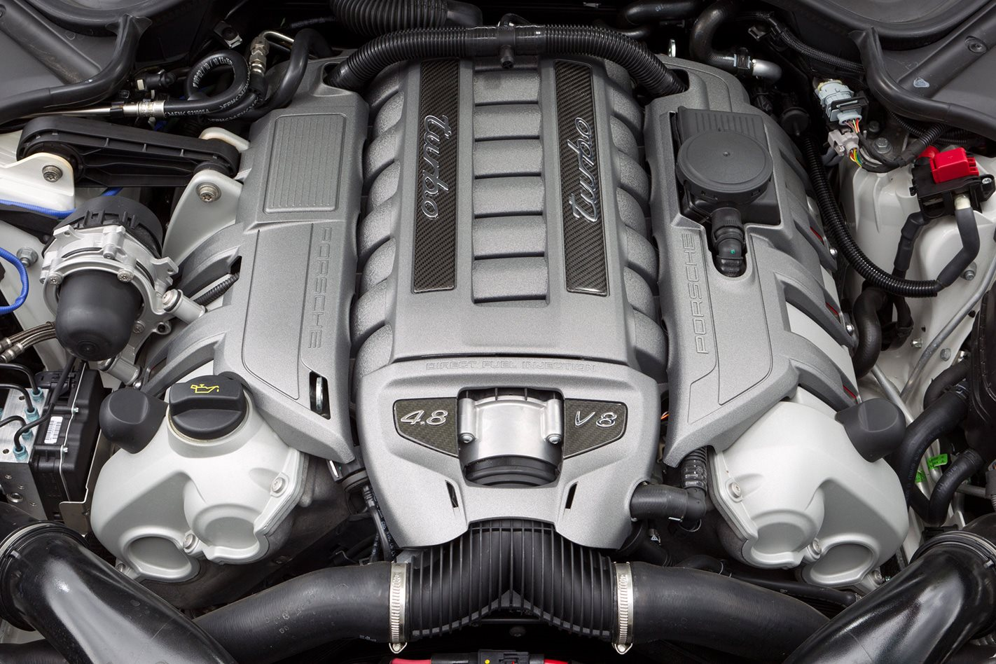 2010 Porsche Panamera Turbo engine