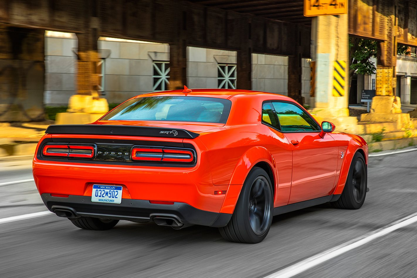 2018 Dodge Challenger Demon rear