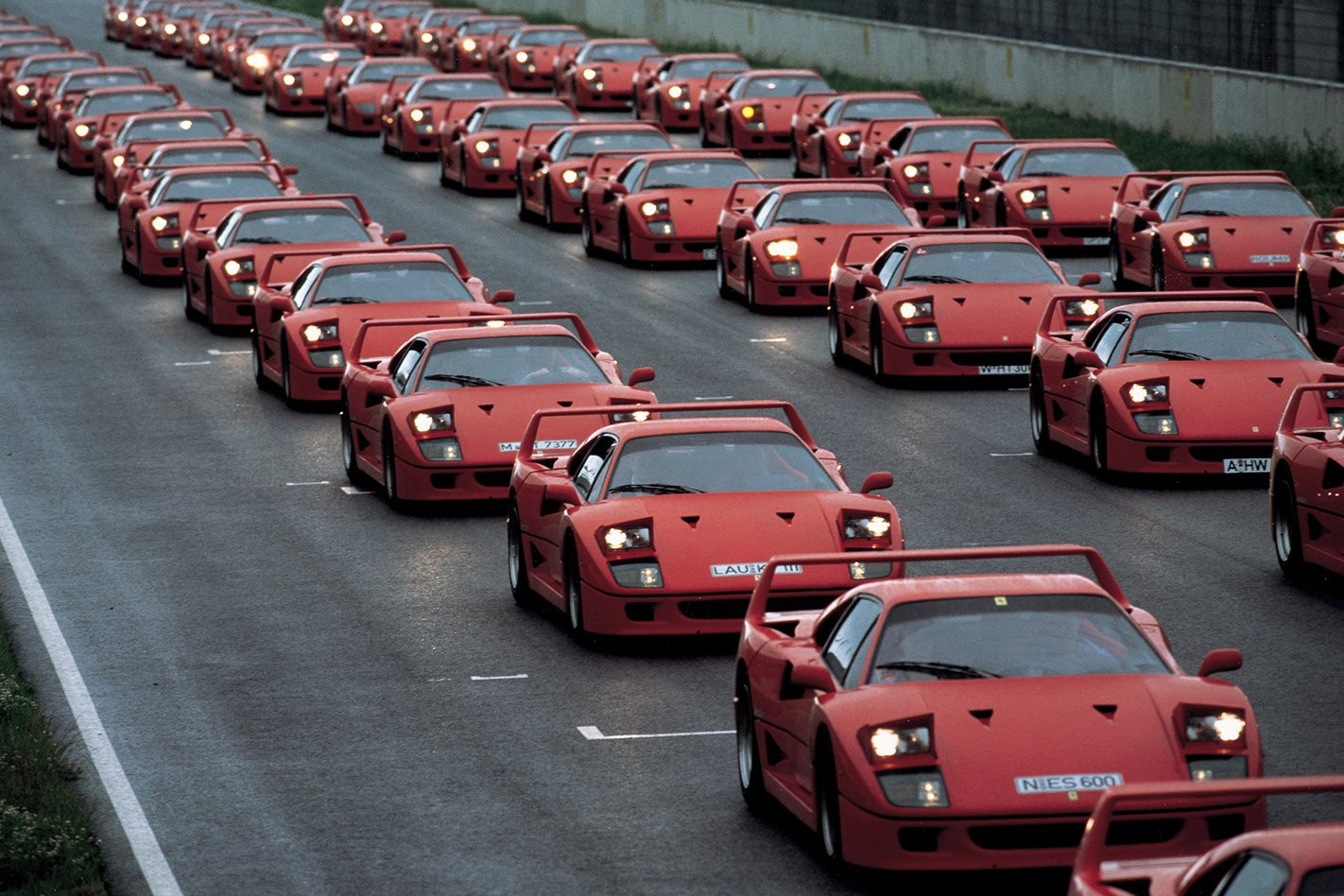Ferrari Club gathering in Germany 1992