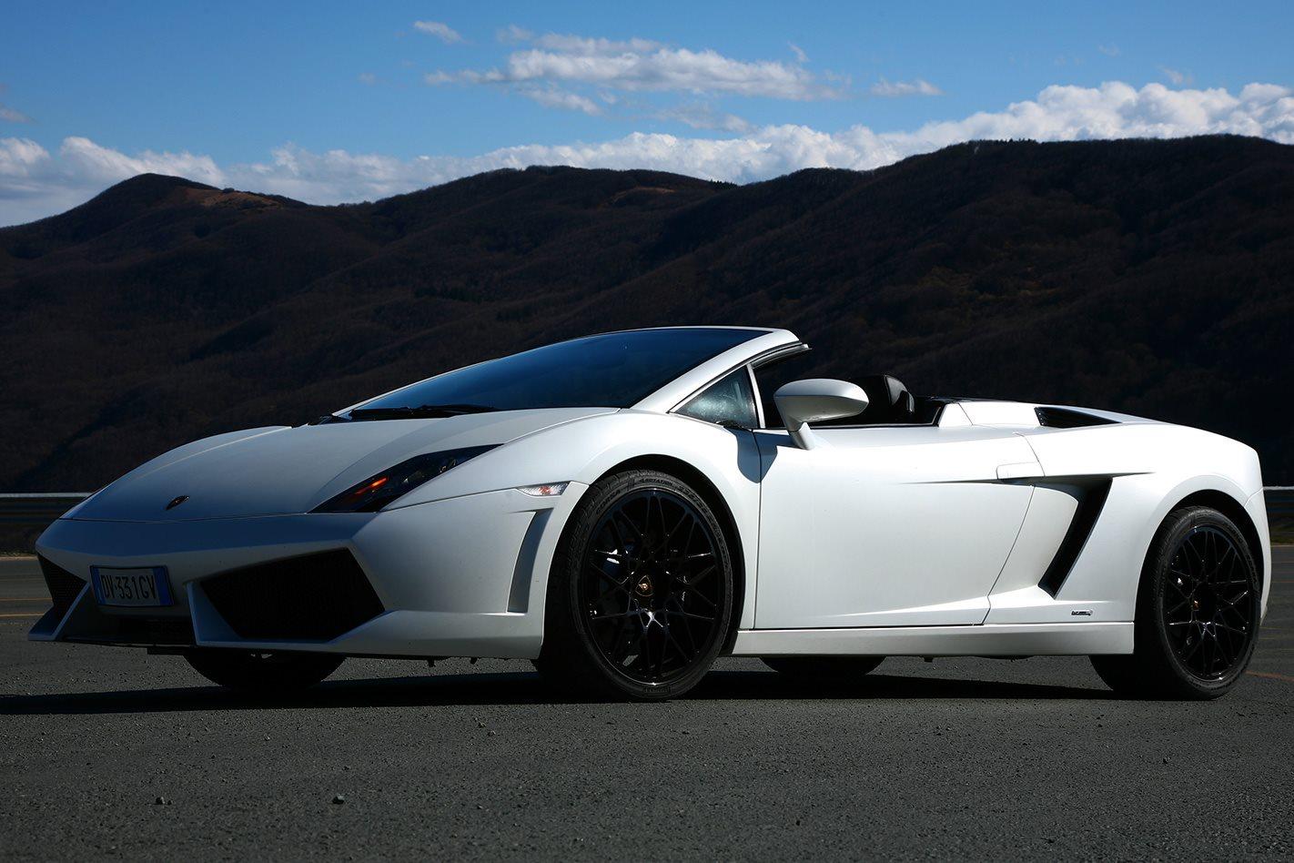 Lamborghini Gallardo Spyder front