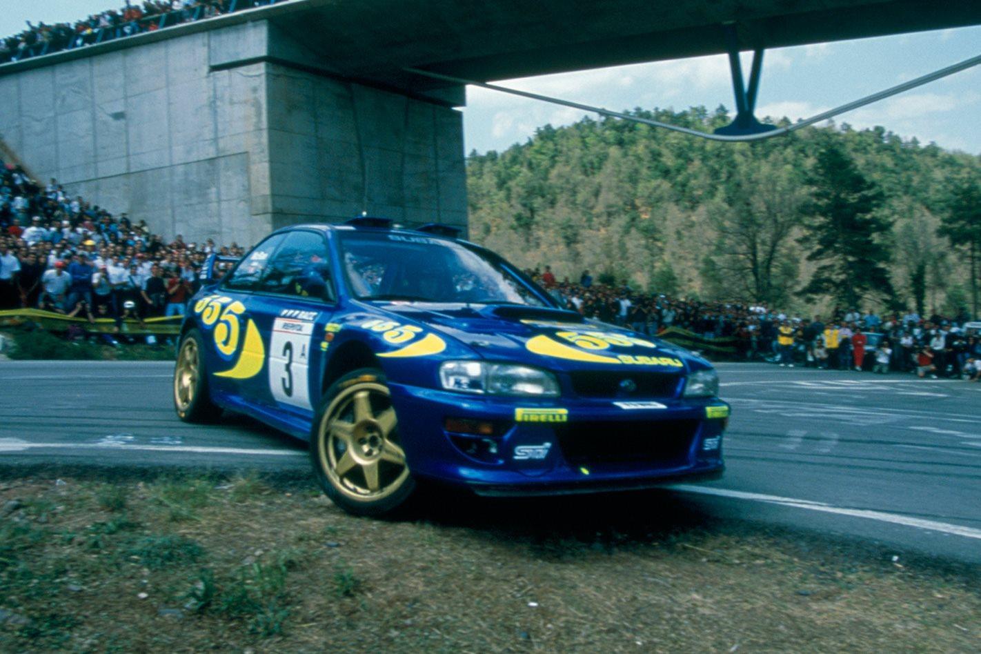 Subaru Impreza WRC front