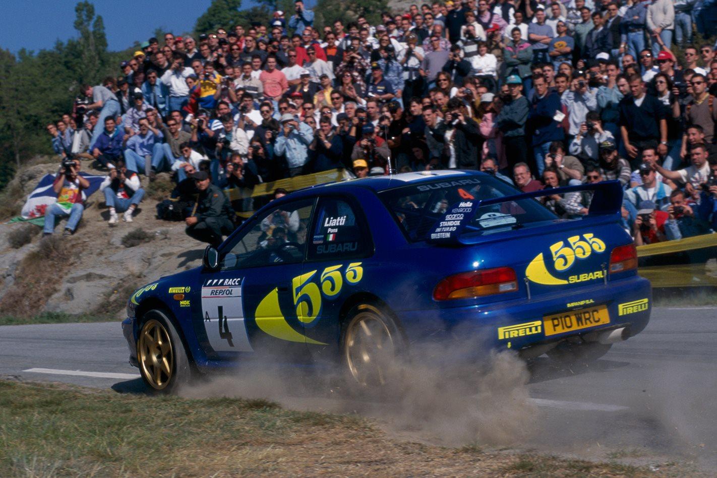 Subaru Impreza WRC racing