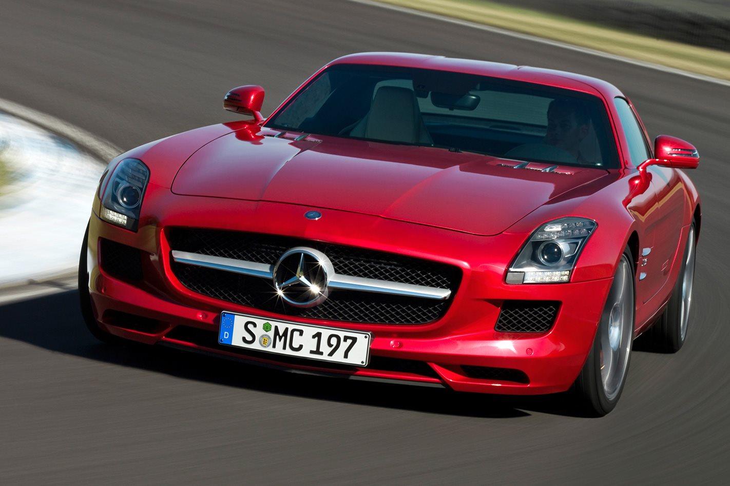 Mercedes-Benz SLS AMG review