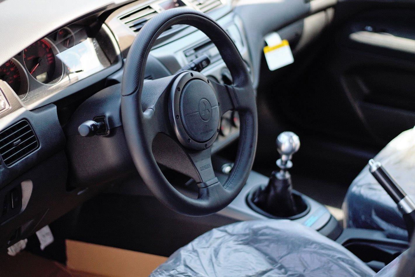 New 2006 Mitsubishi Evo IX MR gearstick