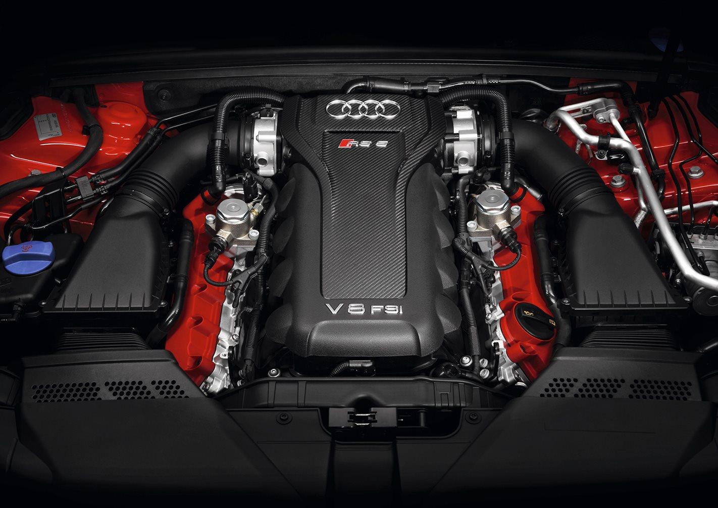 2010 Audi RS5 engine